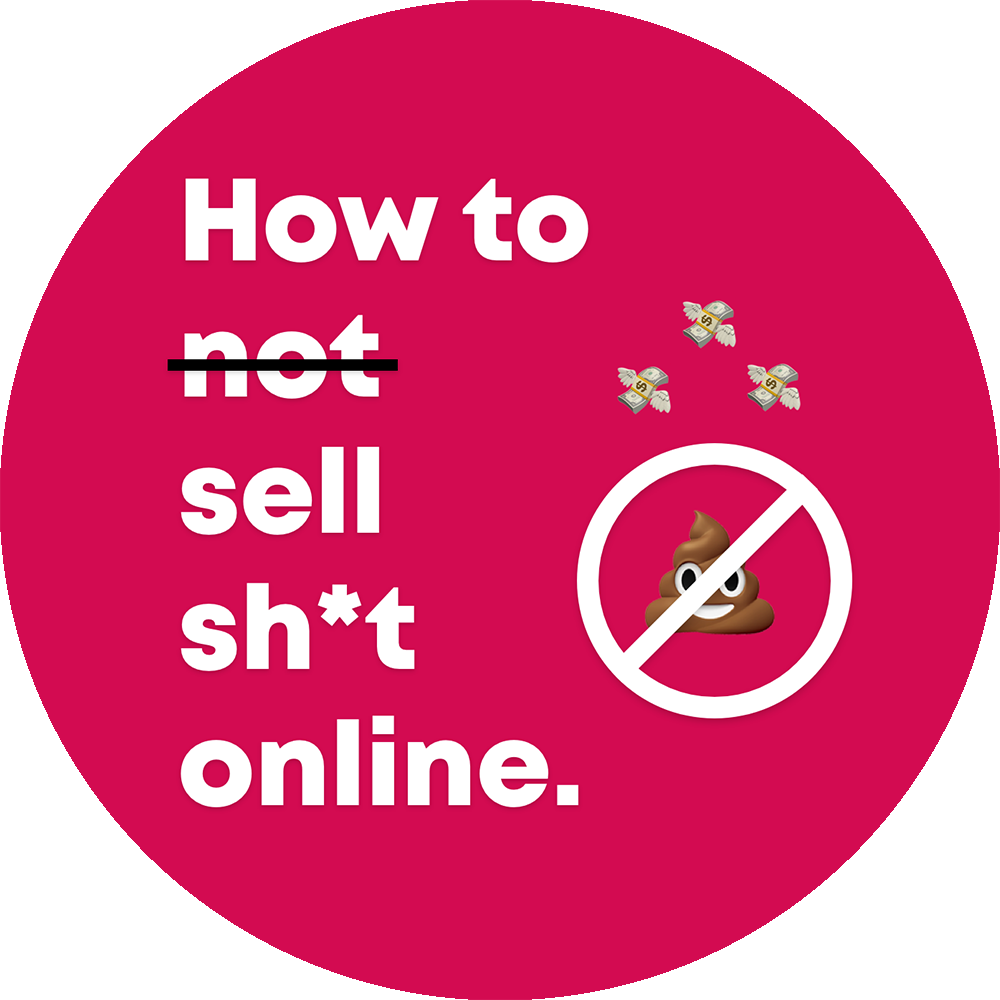 How to not sell shit online